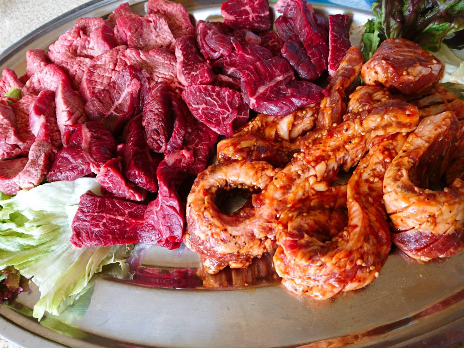 バーベキュー食材 牛肉