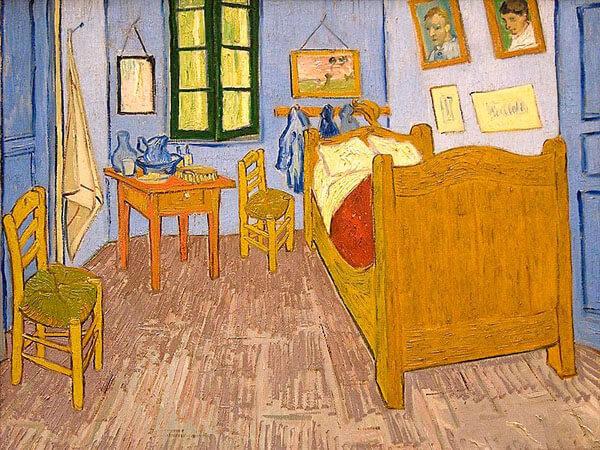 アルルの寝室