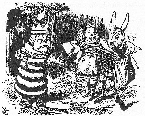鏡の国のアリス キャラクター