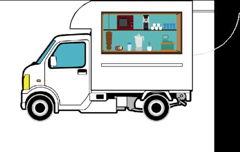 キッチンカーレンタル軽トラック