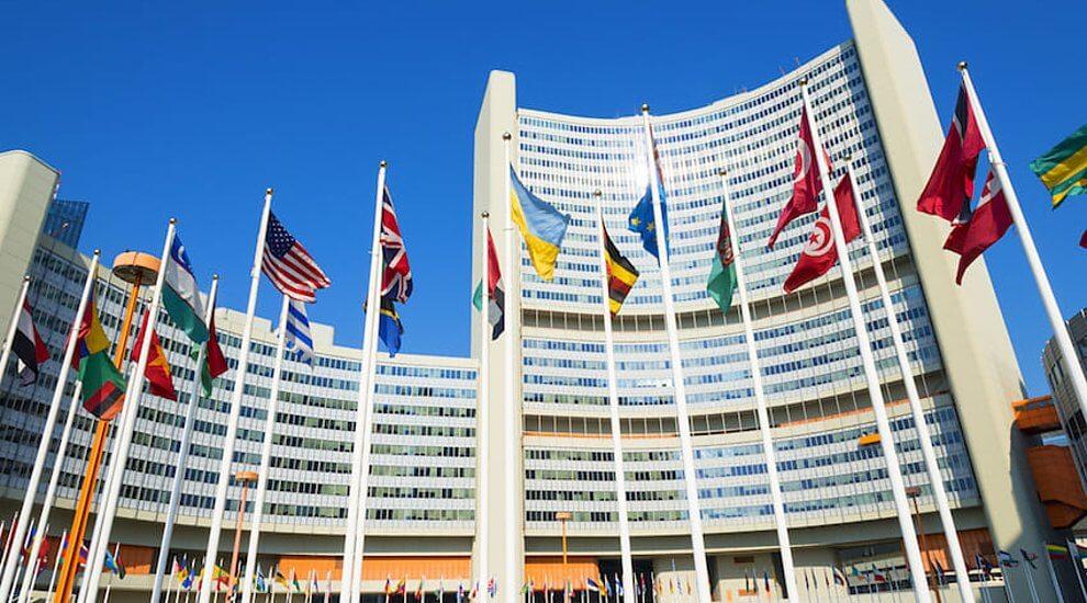 SDGsウェディングケーキ 国連